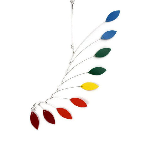 Rainbow Baby Mobile Leaf Wave Style
