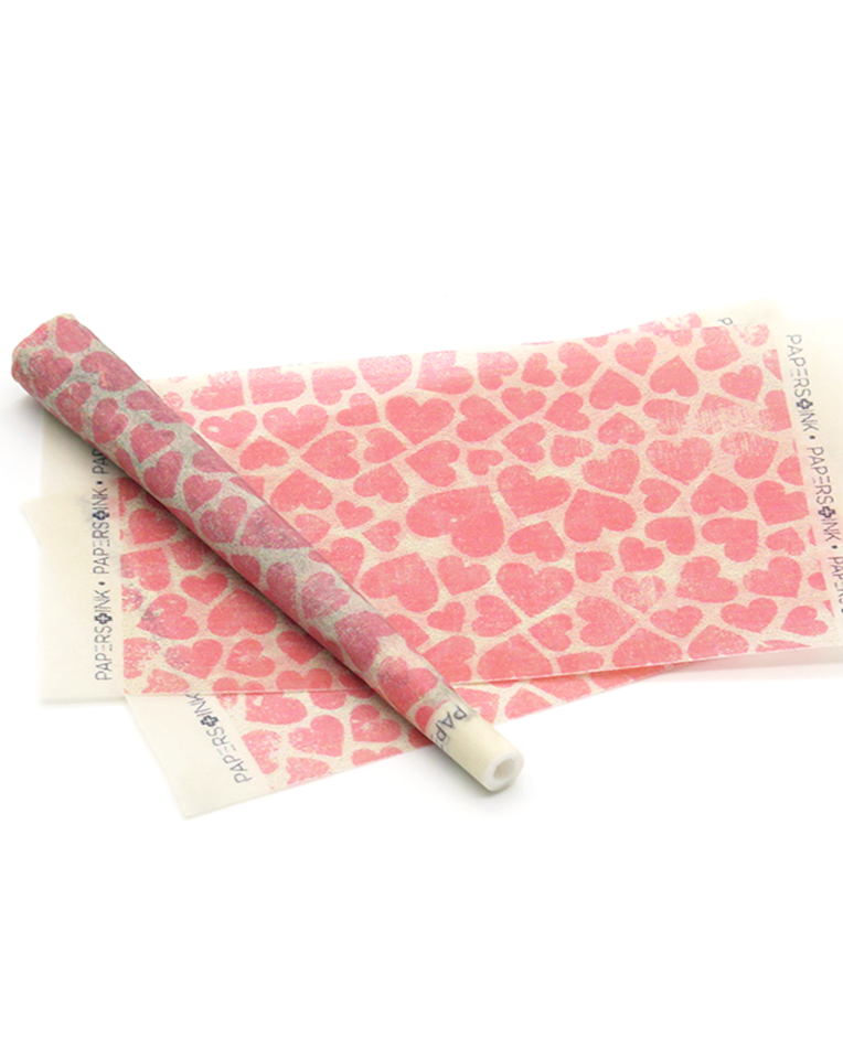 Papers + Ink Rolling Papers Kit in Stamped Hearts