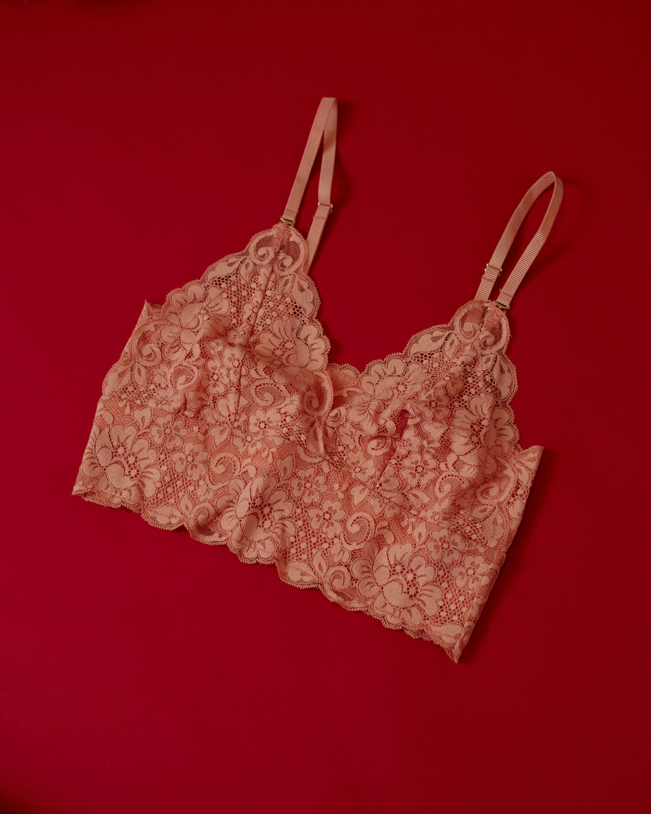 HAH Smarty Bralette Copper Rose