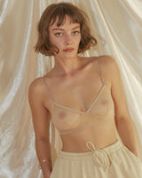Whisper Retro Bralette in Buff