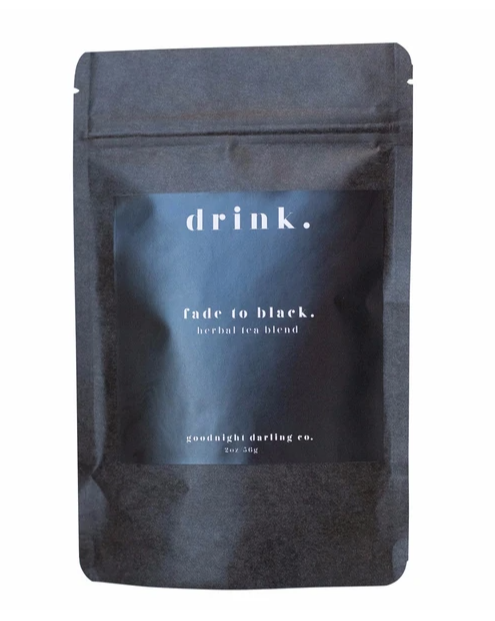 Goodnight Darling Co. Fade to Black Tea