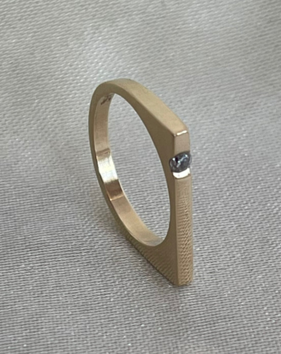 DEAR NEIGHBOR 14k gold Irene ring