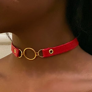 T-Minus Collar // Red