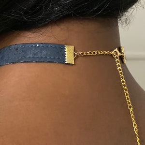 T-Minus Collar // Navy (Cork)