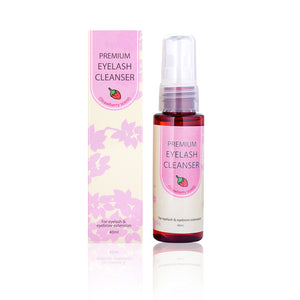 Premium Lashes Cleanser-strawberry scent 40ml