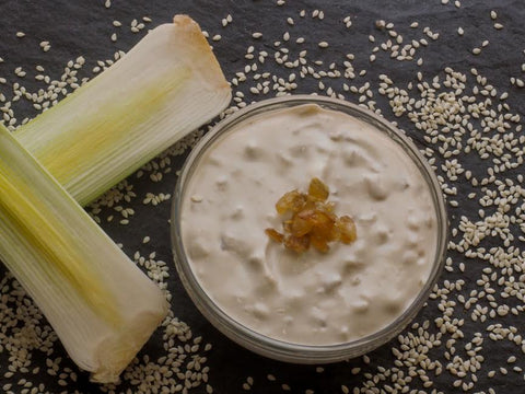 Caramelized Onion Tahini Dip