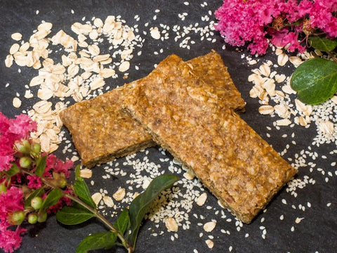 Power Bar with Tahini and Oats