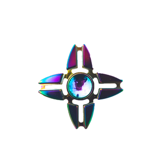 Rainbow Quad Spinner