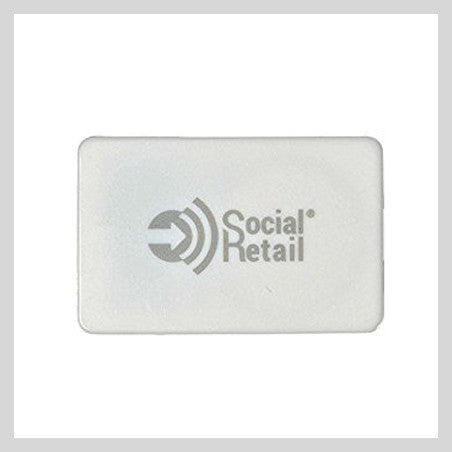 iBeacon i6 Ultra-Thin Bluetooth LE 4.0 Programmable Beacon, Square