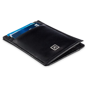 Front Pocket Wallet - Glazed Buffalo Calf Leather