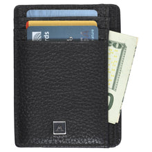 Load image into Gallery viewer, Front Pocket Wallet - Pebble Cowhide Leather