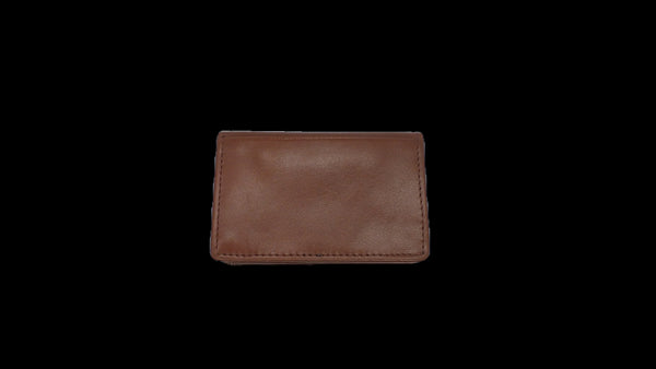 Bifold Pouch Wallet - Glazed Buffalo Calf Leather