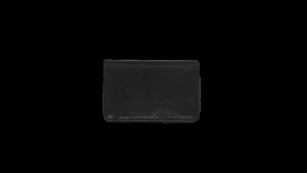 Bifold Pouch Wallet - Pebble Cowhide Leather