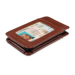 Phone Wallet Medium - Cow Lizard Leather