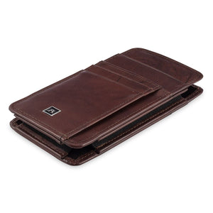 Phone Wallet Large - Buffalo Calf Crunch Leather