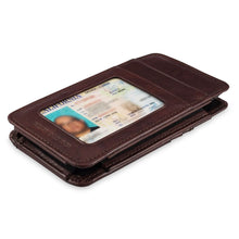 Load image into Gallery viewer, Phone Wallet Large - Buffalo Calf Crunch Leather