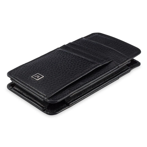 Phone Wallet Large - Pebble Cowhide Leather