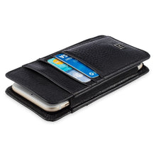 Load image into Gallery viewer, Phone Wallet Large - Pebble Cowhide Leather