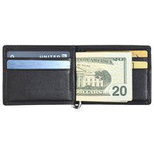 Load image into Gallery viewer, Money Clip - Lamb Skin Nappa Leather