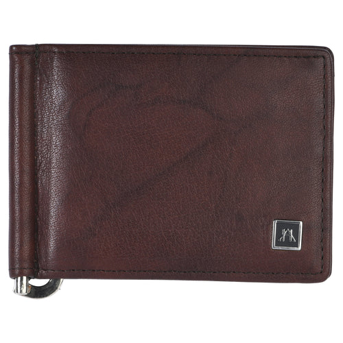 Money Clip - Buffalo Calf Crunch Leather