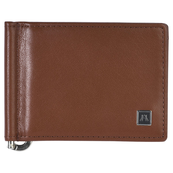 Money Clip - Glazed Buffalo Calf Leather