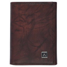 Load image into Gallery viewer, Threefold Wallet - Buffalo Calf Crunch Leather