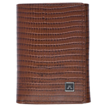 Load image into Gallery viewer, Threefold Wallet - Cow Lizard Leather