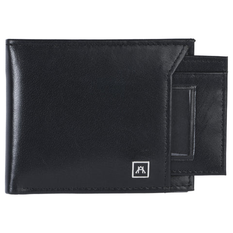 Removable ID Billfold Wallet - Glazed Buffalo Calf Leather