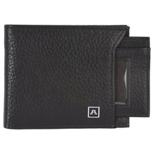Load image into Gallery viewer, Removable ID Billfold  Wallet - Pebble Cowhide Leather