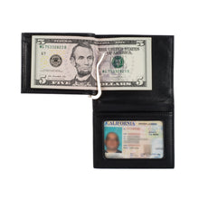 Load image into Gallery viewer, The Money Clip Wallet - Lamb Skin Nappa Leather