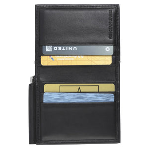 The Money Clip Wallet - Lamb Skin Nappa Leather