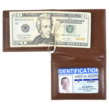 Load image into Gallery viewer, The Money Clip Wallet - Glazed Buffalo Calf Leather