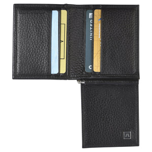 The Money Clip Wallet - Pebble Cowhide Leather