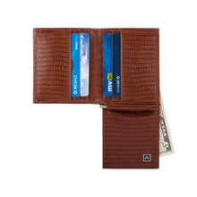 Load image into Gallery viewer, The Money Clip Wallet - Cow Lizard Leather