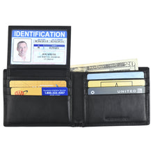 Load image into Gallery viewer, Billfold with ID Pullout - Buffalo Calf Crunch Leather