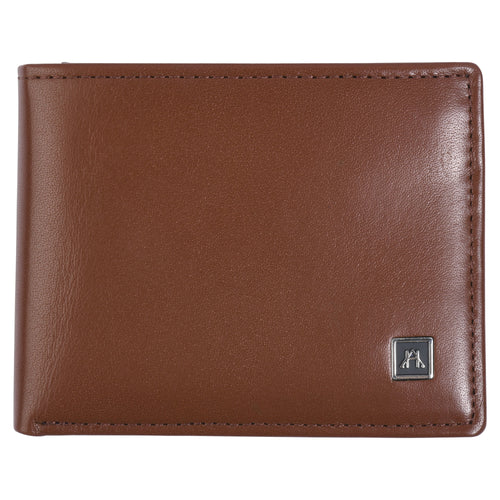 Billfold with ID Pullout - Glazed Buffalo Calf Leather