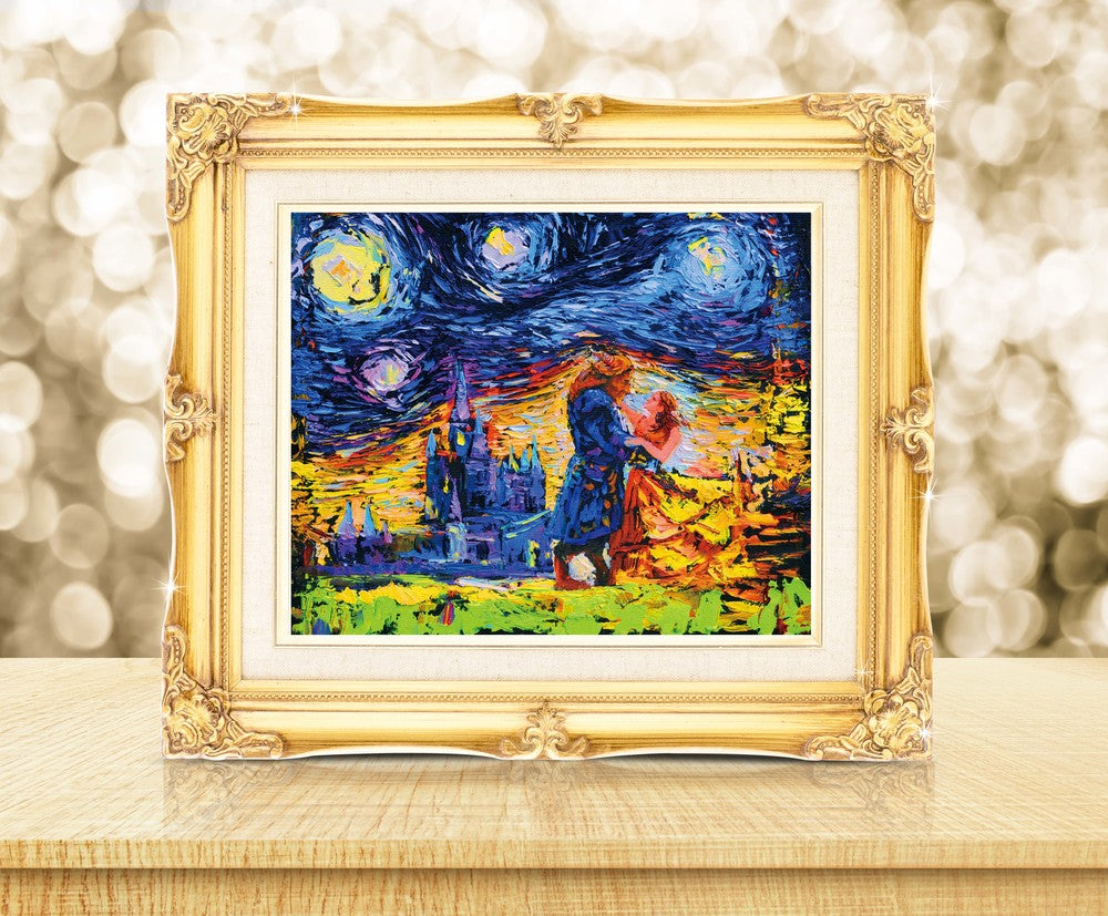 Starry Night Beauty and The Beast Princess Belle Wall Nusery Decor