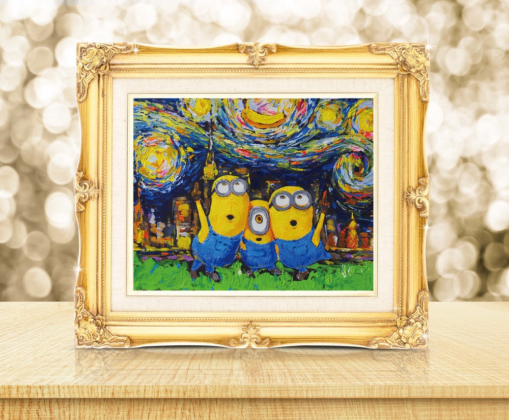 Starry Night The Minions Despicable Me Wall Decor Nusery Decor
