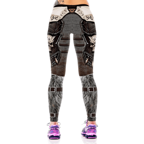 Skuletors 3D Skull Prints Leggings