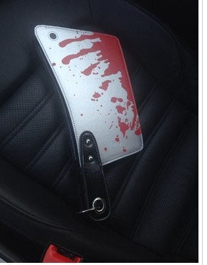 Bloody Cleaver Clutch Bag