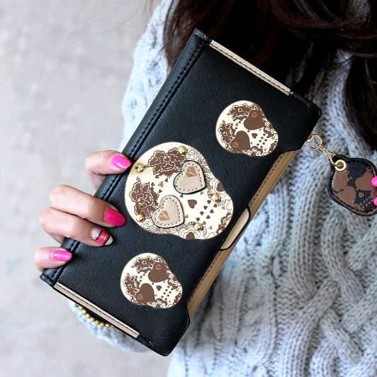 Cute Sugar Skull Wallet