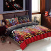 Cosy 4-Pieces 3D skull Print Bedding Set