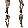 HIGH WAISTED STEAMPUNK LEGGINGS