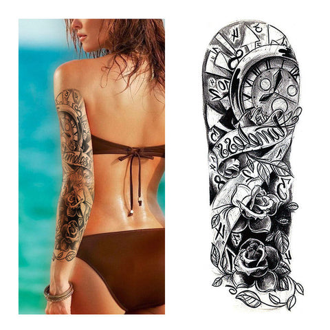 Timeless Sleeve Temporary Tattoo