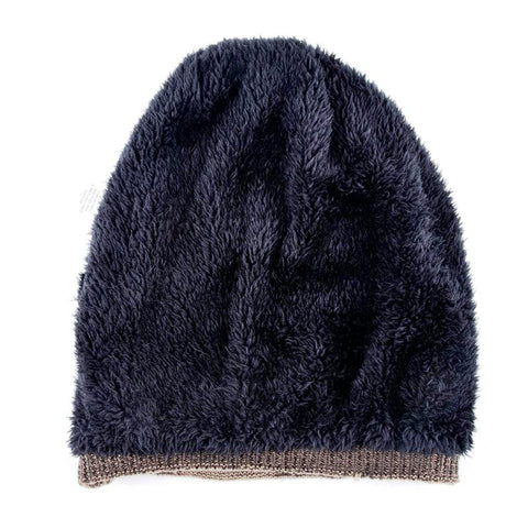 Unisex Casual Skull Pattern Knitted Beanie