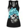 Blinded By Beauty Skull 3D Print Tank Top