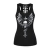 Flying Skull 3D Print Tank Top