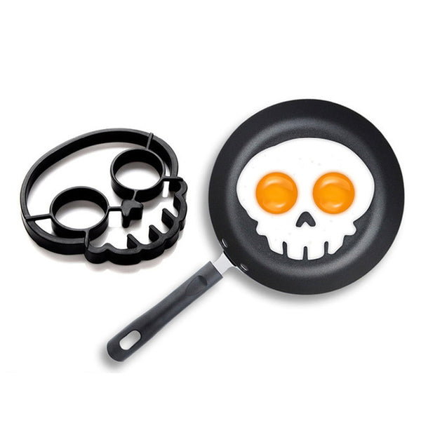 Non Stick Skull Egg Mold