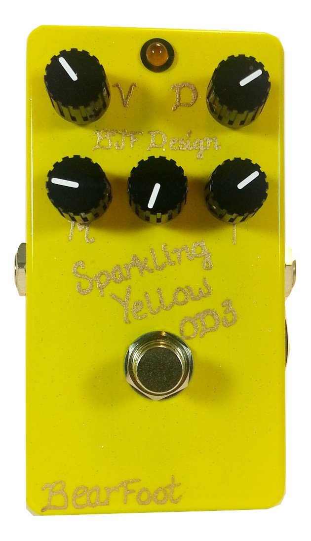 Bearfoot FX Sparkling Yellow Overdrive 3