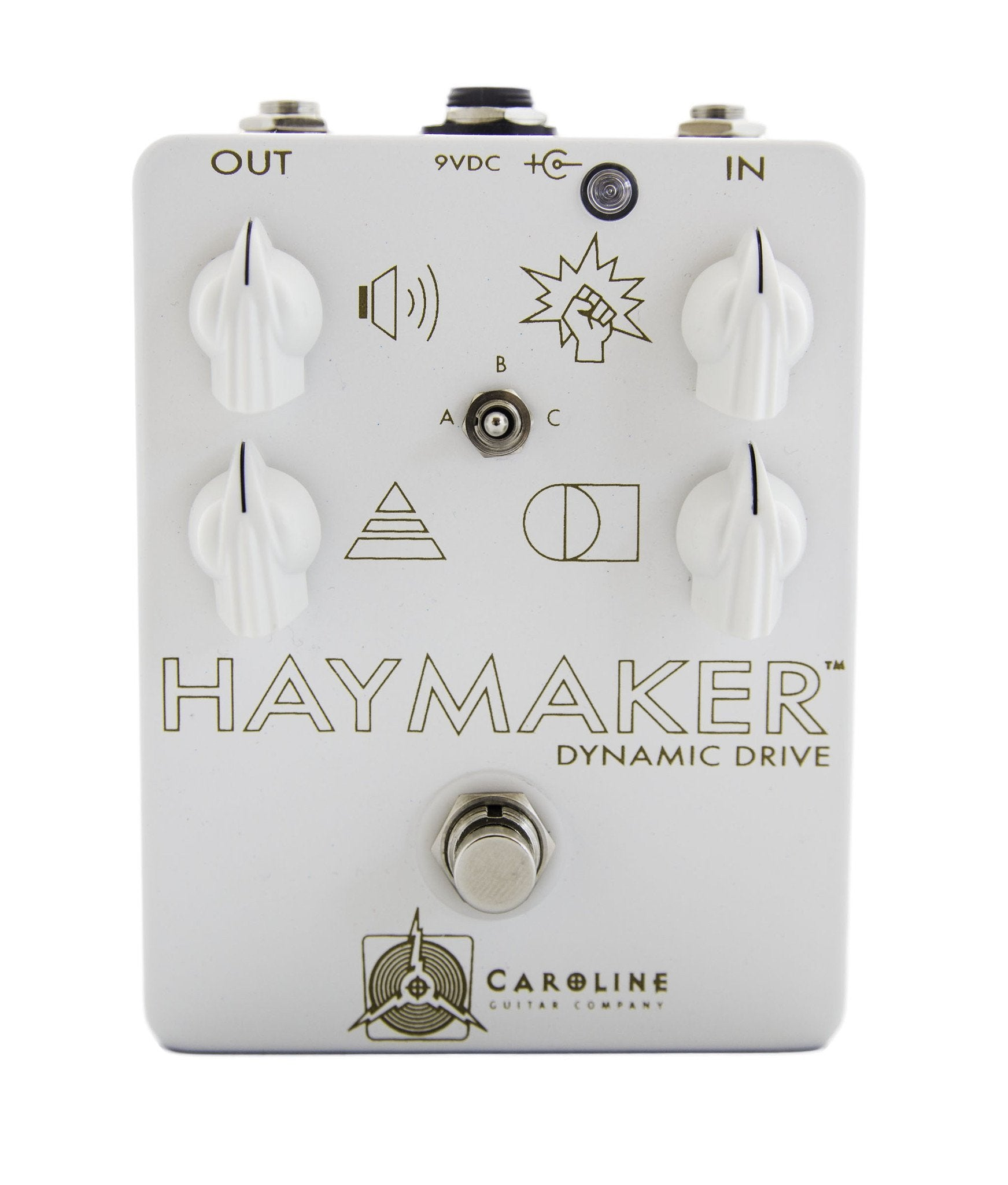 Caroline Guitar Company Haymaker Limited Pearl and Gold Edition